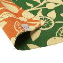 京の両面おもてなし ふろしき 中巾 橙 松葉色 まつばいろ 14-054112