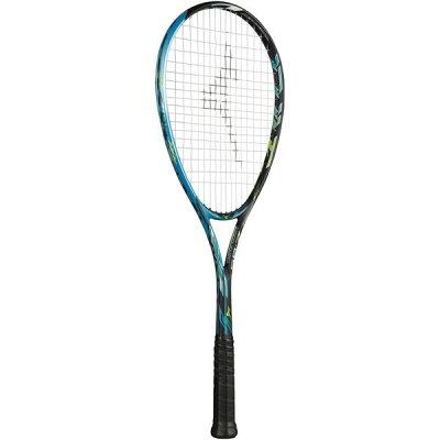 ミズノ ソフトテニスラケット ジストZ-05 63JTN83621 カラー:21/Sブラック/スカイブルー