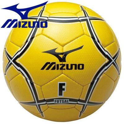 ミズノ MIZUNO フットサルボール 検定球 12OF34045 イエロー×ブラック