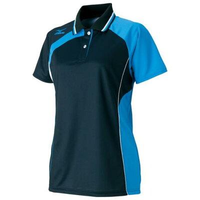 ミズノ  レディース テニス バドミントンウェア ドライサイエンス ゲームシャツ ラケットスポーツ 半袖シャツ 62JA6213