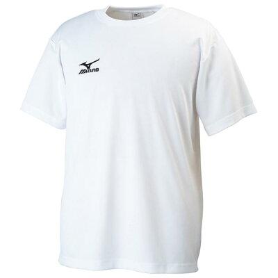 mizuno/ミズノ 32JA6150-01 クロスティック Tシャツ メンズ ホワイト×ブラック