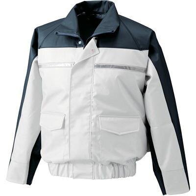 ナダレス空調服ブルゾンND6097 ホワイト2L 8206759