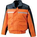 空調服 作業着 作業服 服地ナダレス空調服ブルゾン 服地オレンジ ND6097 R-500N用