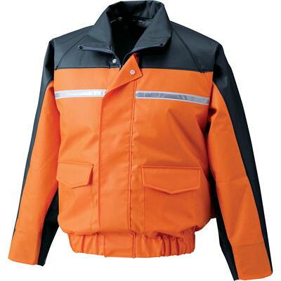 ナダレス空調服ブルゾンnd6097 オレンジ  8206759