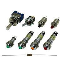 キジマ インジケーターランプ アンバー 12Vタイオウ LED テイコウナイゾウ HD-09002