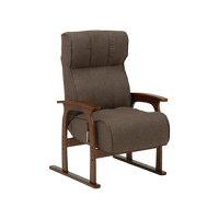HAGIHARA 座椅子 ブラウン LZ-4303BR