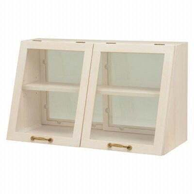 カウンター上ガラスケース ウォッシュホワイト MUD-6068WS