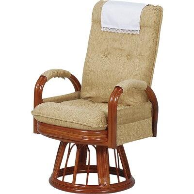 HAGIHARA ギア回転座椅子ハイバック RZ-974-Hi-LBR 2101748300