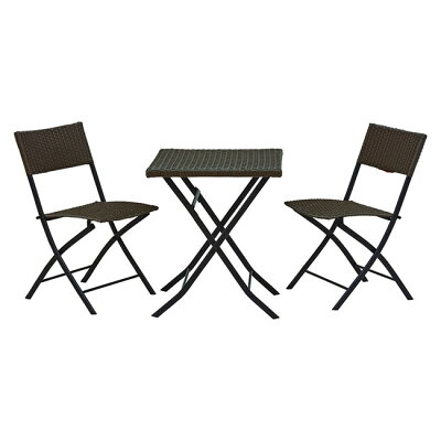 HAGIHARAハギハラ テーブルダークブラウン LGS-4067DBR 2101791100