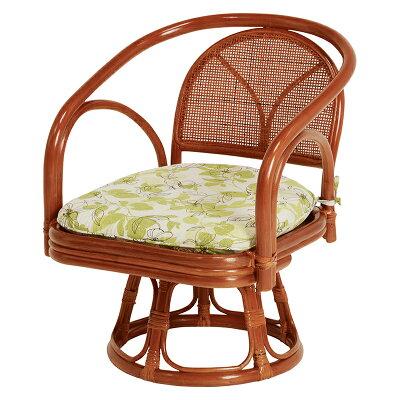 HAGIHARA ハギハラ  籐回転座椅子 RZ 251 2101840300