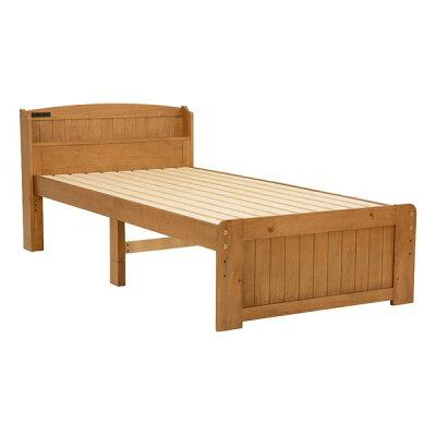 萩原 シングルベッド(ライトブラウン) MB-5905S-LBR 2101846500