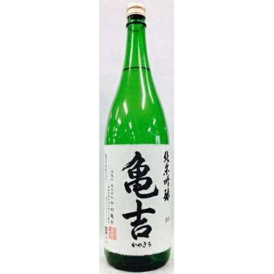 亀吉 純米吟醸 辛口 1.8L