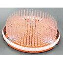 プラスチック剣山カラー銅板付黄コード1586750