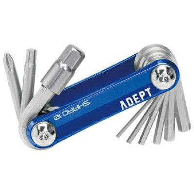 ADEPT/アデプト TOOL 工具用品 SHARD 10 シャード 10 ブルー