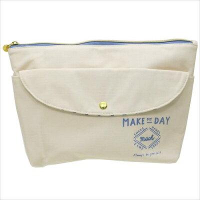 バッグインバッグ MAKE MY DAY シェルホワイト レディースバッグ クラックス 32×23×9cm