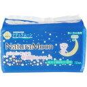 ナチュラムーン 生理用ナプキン 多い日の夜用 羽なし(12コ入)