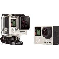 GoPro マイクロSD対応 40m防水ハウジング付属フルハイビジョンムービー ゴープロ HERO4 ブラックエディション アドベンチャー CHDHX-401-JP2