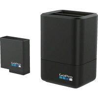 GOPRO デュアルバッテリーチャージャー+バッテリー for HERO5 ブラック AADBD-001-AS