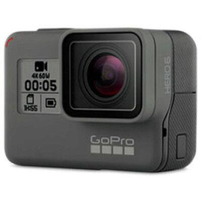 GOPROマイクロSD対応 4Kムービー ウェアラブルカメラ GoPro ゴープロ HERO6 Black ブラックエディション CHDHX-601-FW