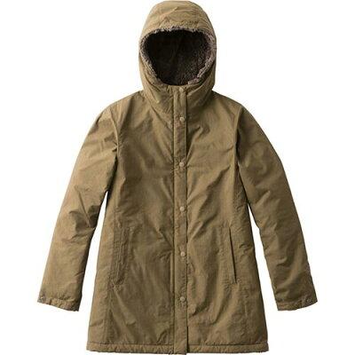 ノースフェイス THE NORTH FACE レディース アウター コンパクトノマドコート Compct Nomad Coat BE/ビーチグリーン NPW71635