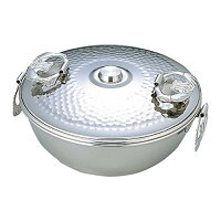 TAKEKOSHI/タケコシ 18-8 ミニ しゃぶしゃぶ鍋セット用 鍋丈 蓋付