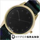 ハイパーグランド腕時計 ゼロワン ナトー 01NATO メンズ レディース ブラック NW01ROCH
