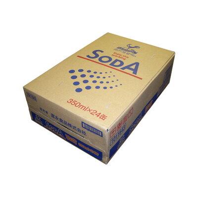 富永貿易 神戸居留地ソーダ炭酸水350ml×24缶ケース