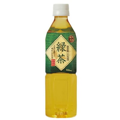 富永貿易 神戸茶房緑茶500mlペット×24本ケース
