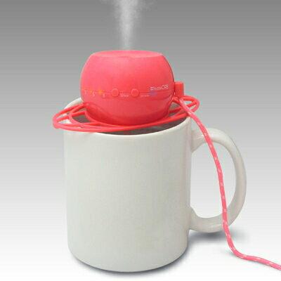 トップランド ペットボトル加湿器 オーブ ピンク M7012-P(1台)