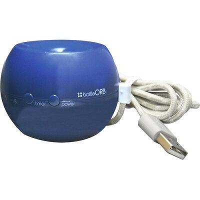 トップランド ペットボトル加湿器 オーブ ブルーベリー SH-OR30BB(1個)