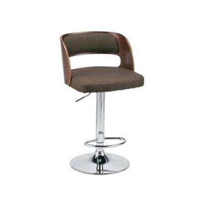 カウンター チェア バーチェア椅子 イス 高さ調節 背付き ファブリック KNC-G656