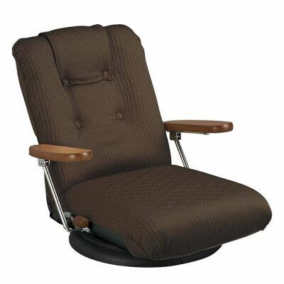 MIYATAKE/ミヤタケ ポンプ肘式回転座椅子 YS-P1375BR ブラウン