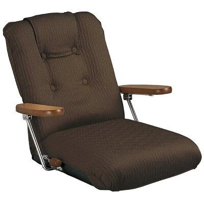 MIYATAKE/ミヤタケ ポンプ肘式座椅子 YS-P1075BR ブラウン