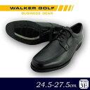 WALKER GOLF 紳士メンズ 牛革ビジネスシューズ WG201 ブラック 26.0cm