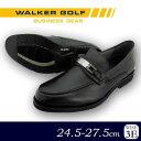 WALKER GOLF 紳士メンズ ビジネスシューズ WG204 ブラック 25.5cm