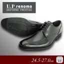 U.P Renoma 紳士メンズ ビジネスシューズ U3600 ブラック