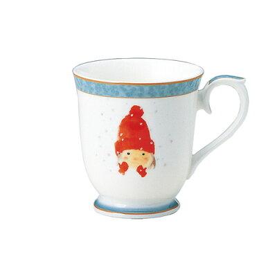 ナルミ いわさきちひろ 赤い毛糸帽の女の子 50442-2635 マグカップ