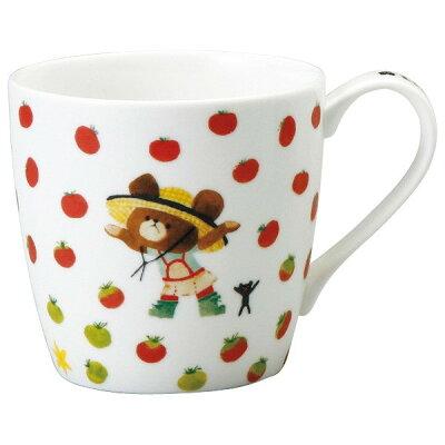 くまのがっこうマグカップ 41007-2889 トマト