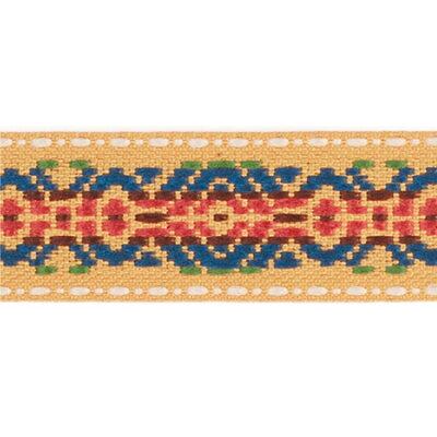 チロルテープ 5m ジオメトリー柄/KR5982-85 手芸・ハンドメイド用品 レース・リボン・テープ・コード リボン
