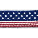 チロルテープ アメリカンフラッグ 24mm×5m/KR5961-24MM 手芸・ハンドメイド用品 レース・リボン・テープ・コード リボン
