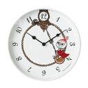 moomin ムーミン 掛け時計 ウォールクロック リトルミイ スイング φ200mm .