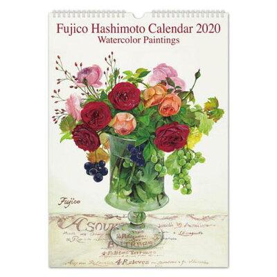 FRONTIA 2020年カレンダー 橋本不二子 Roses L CAL-10