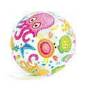 インテックス ライブリープリントボール 51cm ビーチボール #59040H #59040H
