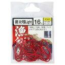 金龍 徳用 赤 ホタ鈎ライト 16