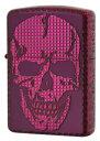 Zippo(ジッポー):SKULL STUDS(スカル・スダッズ)/(M)Mad Purple