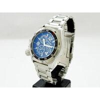 (シーレーン)SEALANE 腕時計 20BAR 簡易方位ベゼル N夜光 SE46-MBK