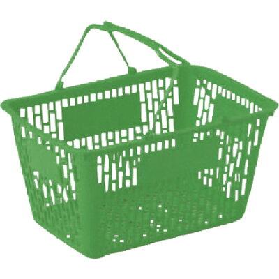岐阜プラスチック (MY-25 G)リス 買物篭MY25 緑