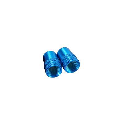 ALLIGATOR アルミ カラー バルブキャップ (米)ブルー