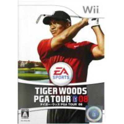 タイガー・ウッズ PGA TOUR 08/Wii/RVLPRT8J/A 全年齢対象