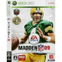 マッデン NFL 09(英語版)/XB360/K4C00007/A 全年齢対象